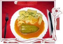 Obedové menu Červený Mak (ilustračné foto)